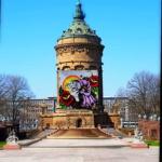 Wasserturm-mit-Jungbuschgraffiti